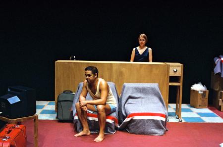 """Miguel Magalhães e Maria João Robalo, """"Nunca estive em Bagdad"""" (foto. Augusto Baptista)"""