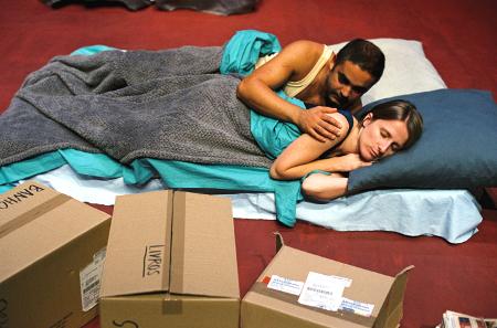 """Miguel Magalhães e Maria João Robalo, """"Nunca estive em Bagdad"""" (foto: Augusto Baptista)"""
