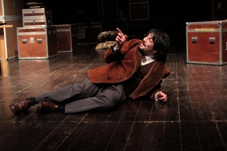 """Igor Lebreaud, """"Novas diretrizes em tempos de paz"""" (foto de ensaio de Eduardo Pinto)"""