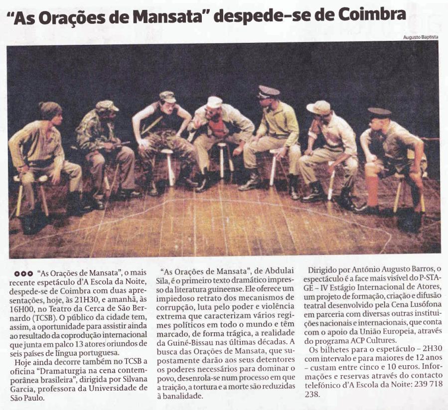 Diário As Beiras, 26/10/2013