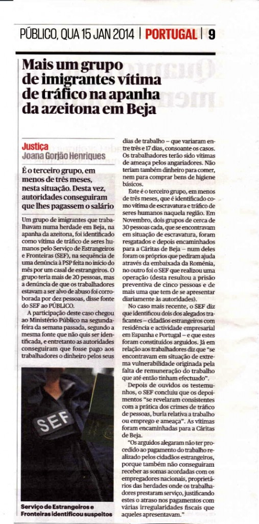 Público, 15/01/2014