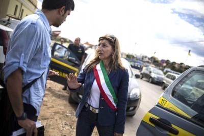 Giusi Nicolini, autarca de Lampedusa (Itália)