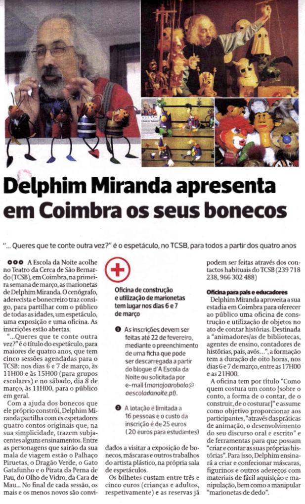Diário As Beiras, 17/02/2014