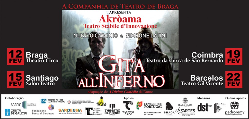 flyer Gita all'Inferno frente
