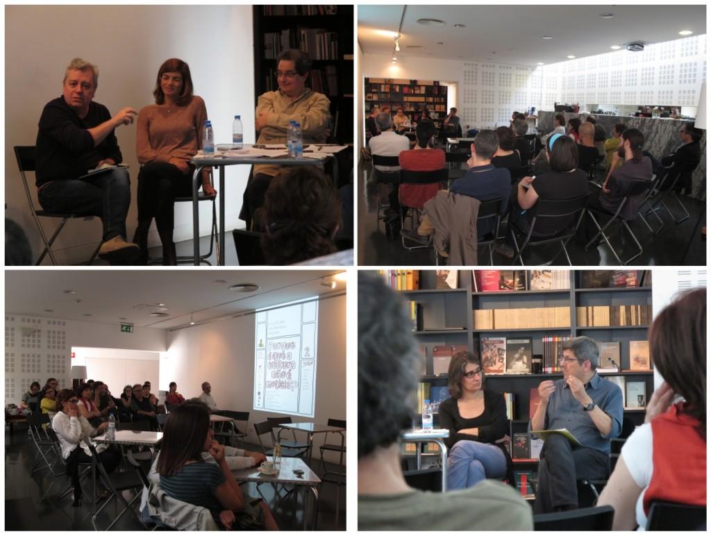 """debate """"A Cultura na Primeira Página"""": Porque é que a cultura não é notícia? - TCSB, 2 de julho de 2014 (fotos: Pedro Rodrigues)"""