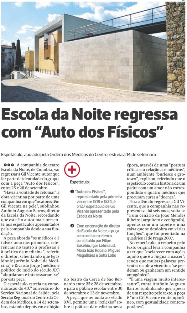 Diário As Beiras, 30/08/2014