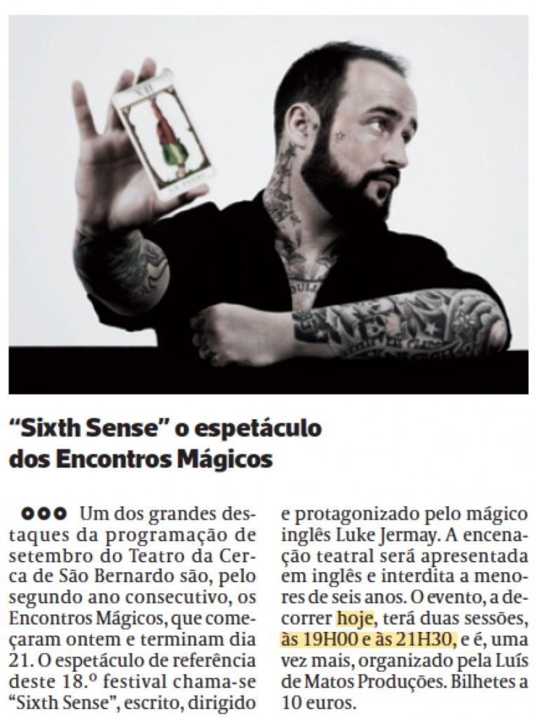 Diário As Beiras, 17/09/2014