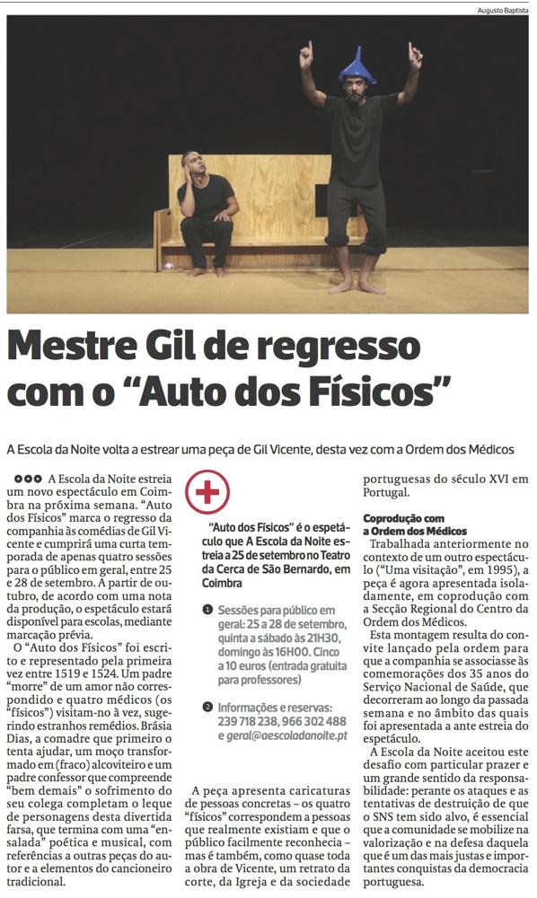 Diário As Beiras, 22/09/2014