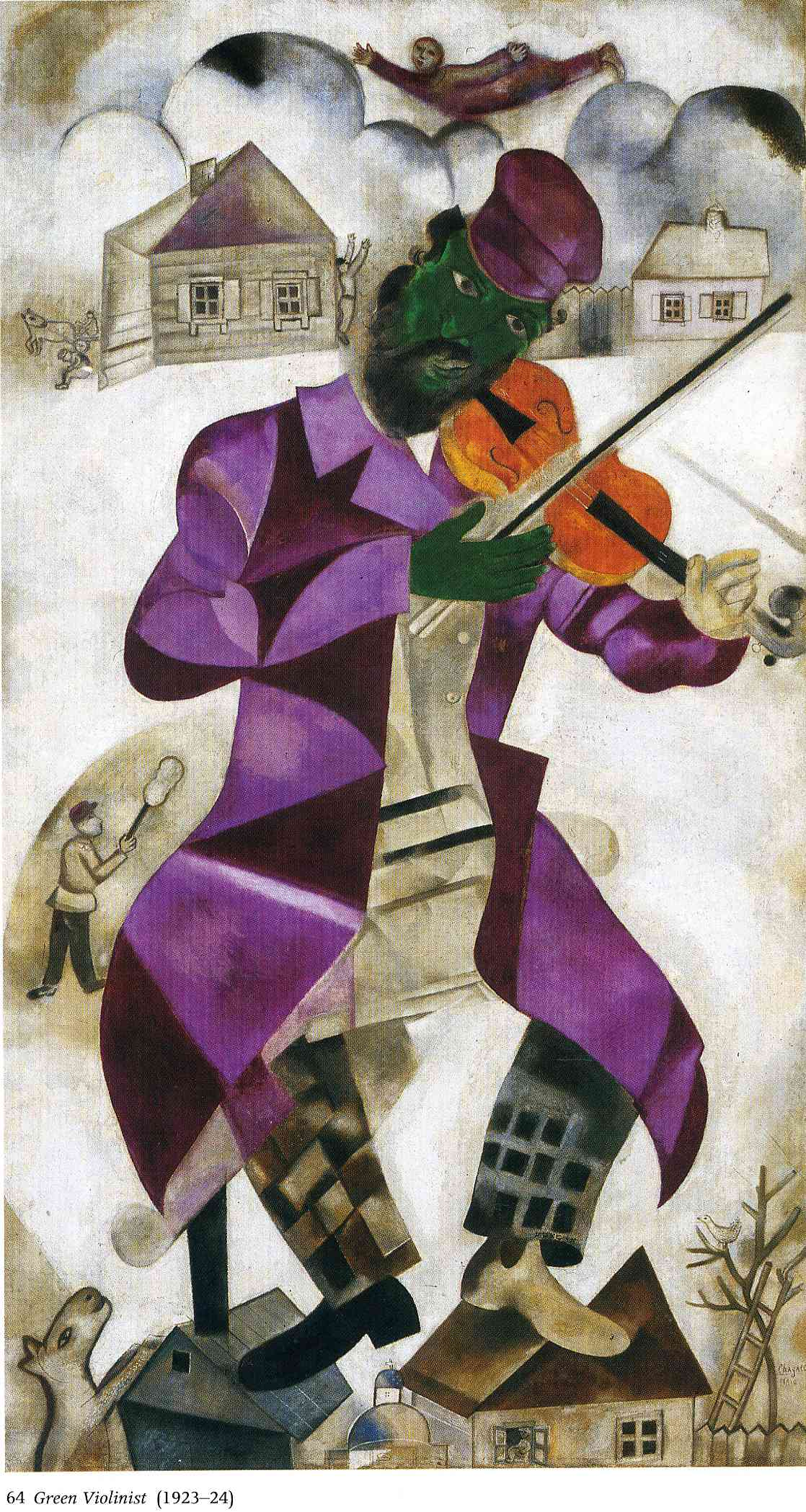 Chagall-The-Green-Violinist-1923-24