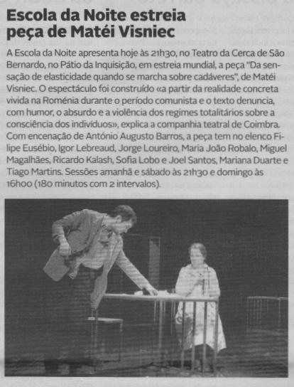 Diário de Coimbra, 18/12/2014