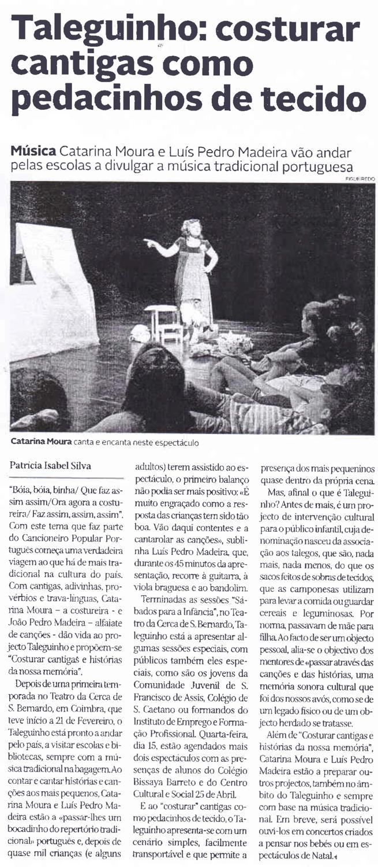 Diário de Coimbra, 13/07/2015