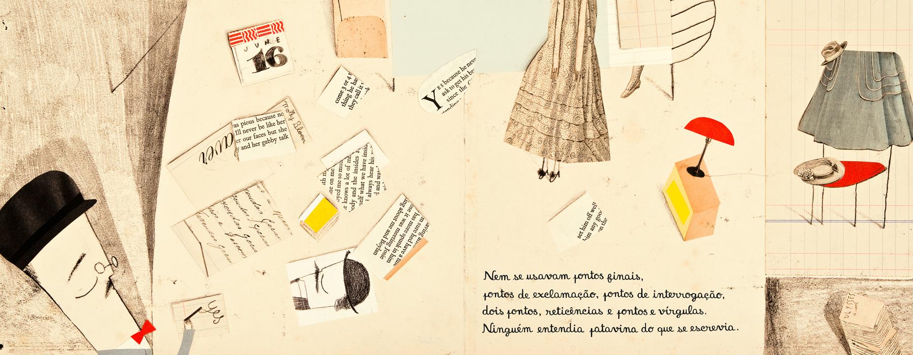 """ilustração de Catarina Sobral (""""Greve"""", 2011)"""