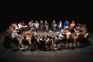 Clube de Leitura Teatral - Coimbra - sessão de Fevereiro/2016 (foto: Cláudia Morais)