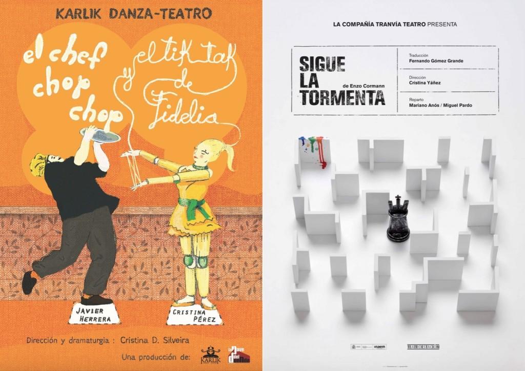 dois cartazes