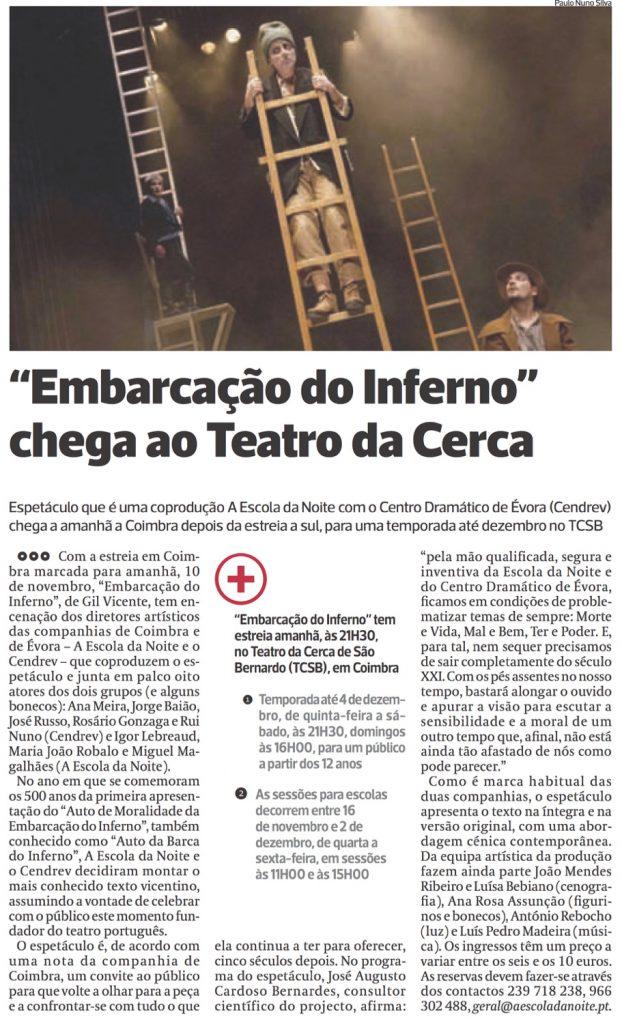 Diário As Beiras, 09/11/2016