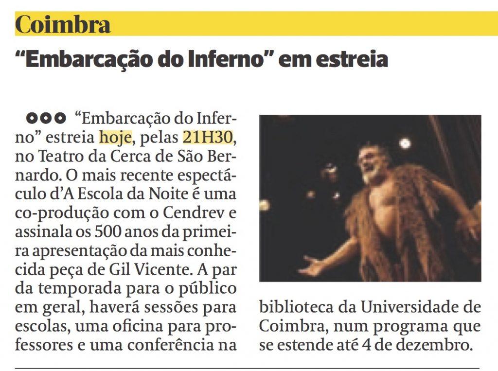 Diário As Beiras, 10/11/2016