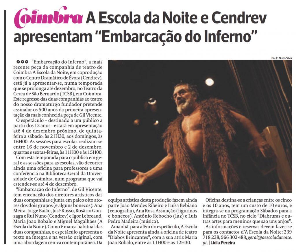 Diário As Beiras, 11/11/2016