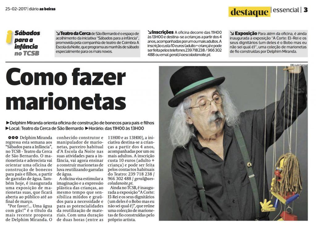Diário As Beiras, 25/02/2017