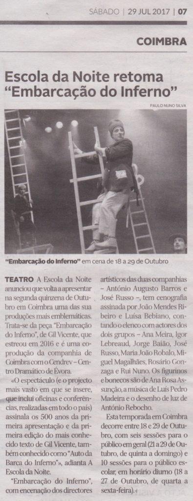 Diário de Coimbra, 29/07/2017