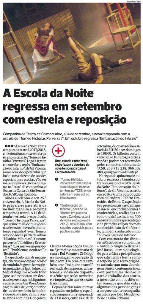 Diário As Beiras, 31/07/2017