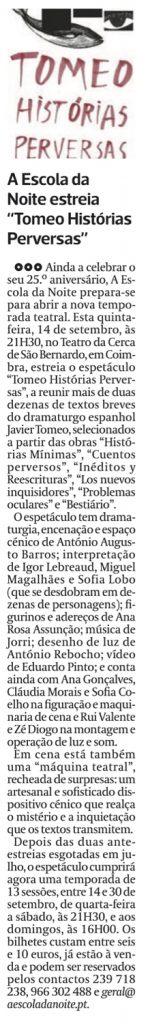 Diário As Beiras, 12/09/2017