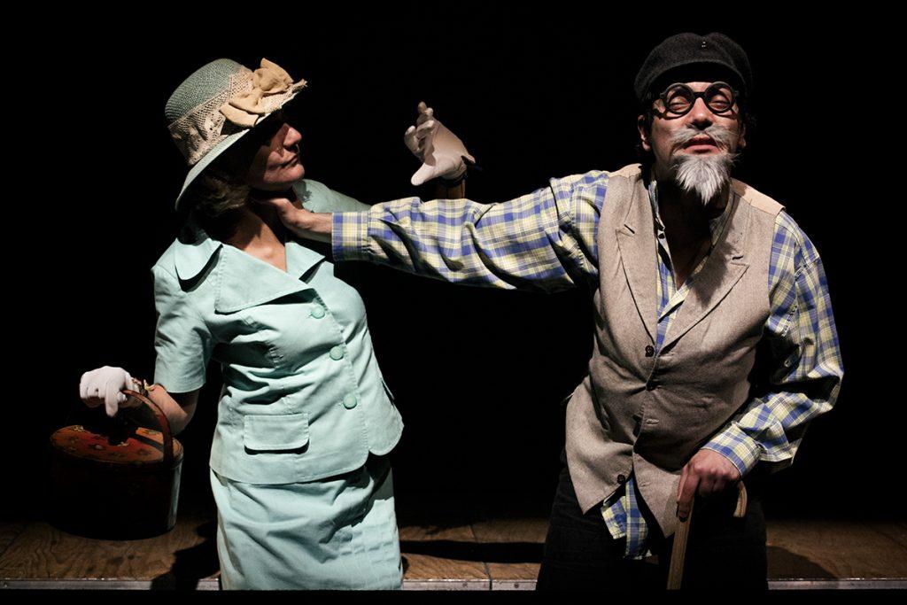 """Sofia Lobo e Igor Lebreaud, """"TOMEO Histórias Perversas"""" (foto: Eduardo Pinto)"""