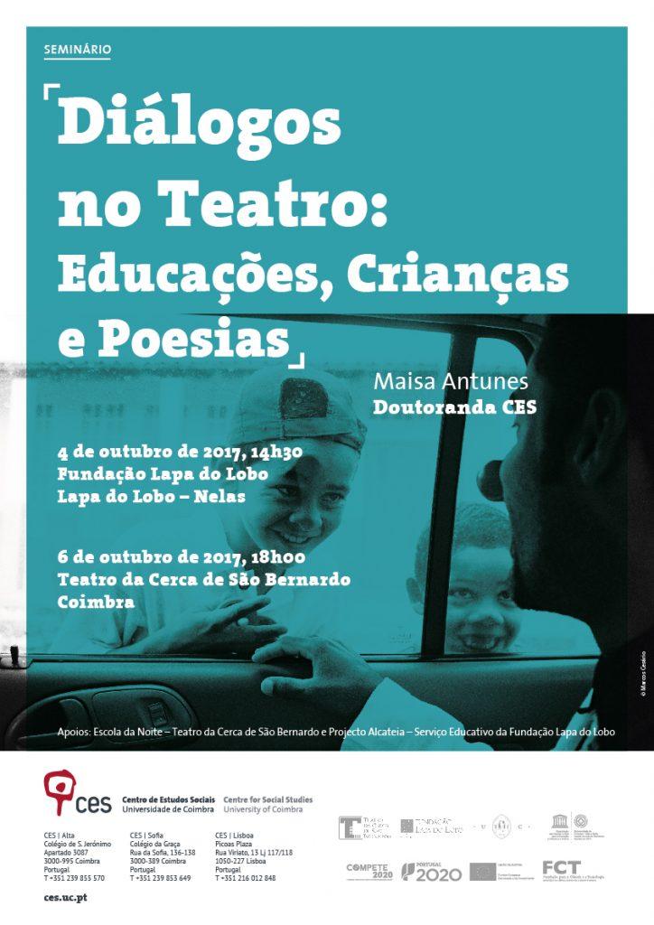 cartaz - Dialogos no Teatro