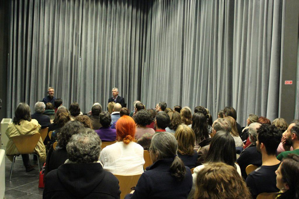 """""""Gil Vicente no seu tempo e no nosso tempo"""" - conferência / entrevista de José Bernardes a Pedro Sobrado, Teatro Carlos Alberto, Porto, 15/01/2018"""