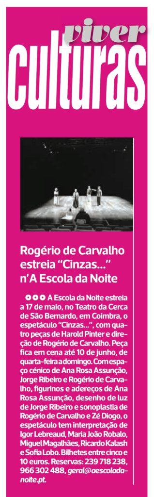 Diário As Beiras, 10/05/2018