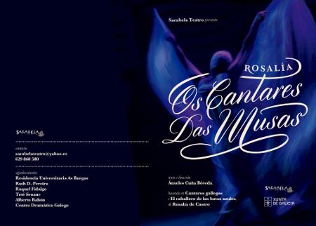 """""""Os cantares das musas"""", pelo Sarabela Teatro, é um dos espectáculos que o TCSB vai receber em Outubro."""