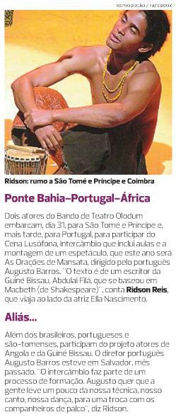 Bando de Teatro Olodum_África e Portugal