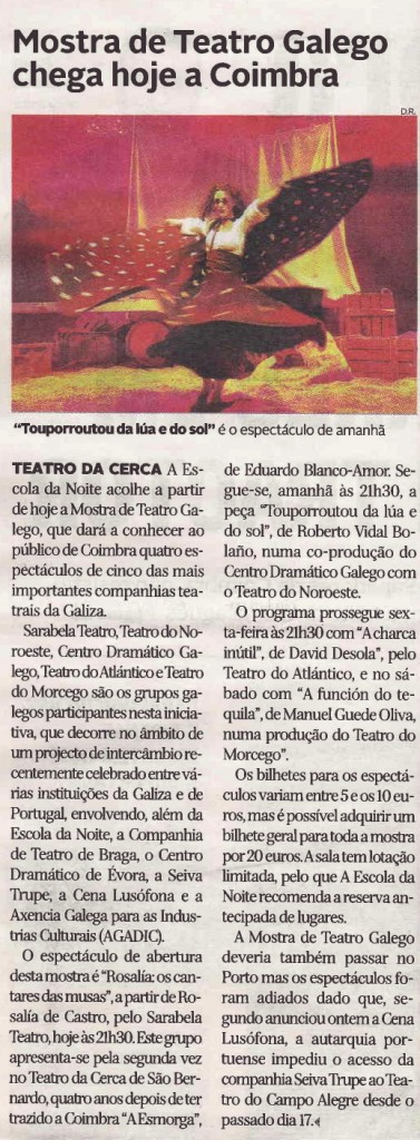 Diário de Coimbra, 30/10/2013