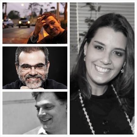 Jô Bilac, Dib Carneiro Neto, Rodolfo García Vásquez e Cláudia Barral