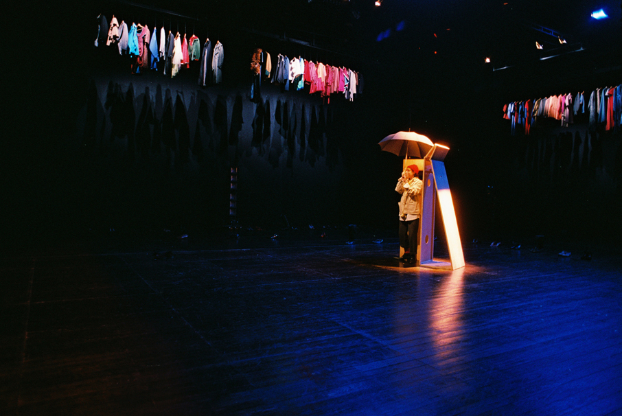 """Rafaela Bidarra, """"Teatro Menor"""" (foto: Augusto Baptista/2011)"""