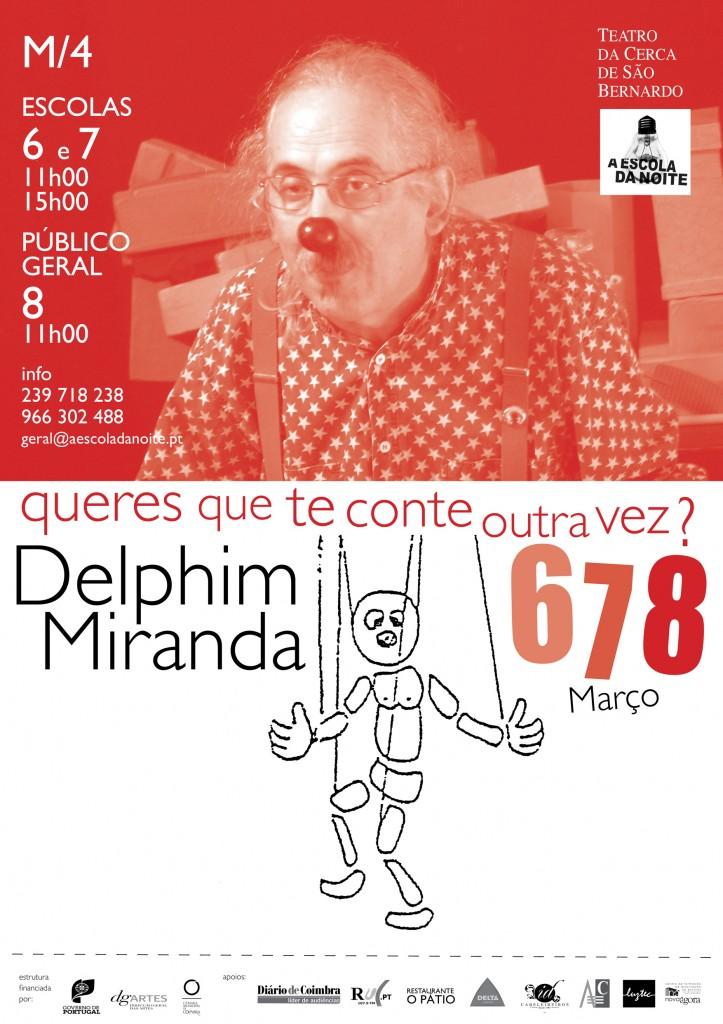 cartaz delphim miranda