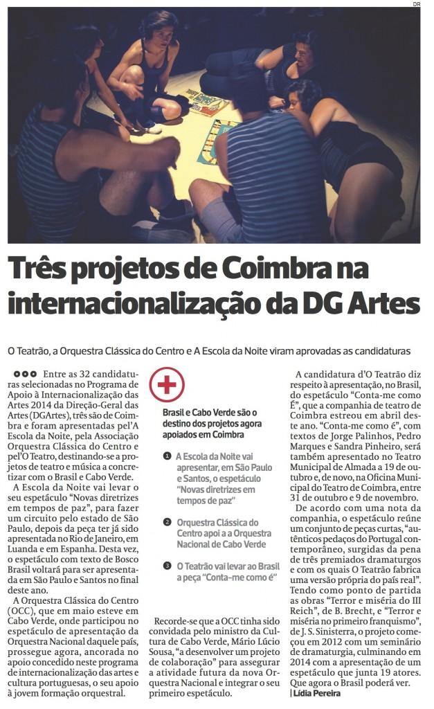 Diário As Beiras, 28/07/2014 (clique para aumentar)