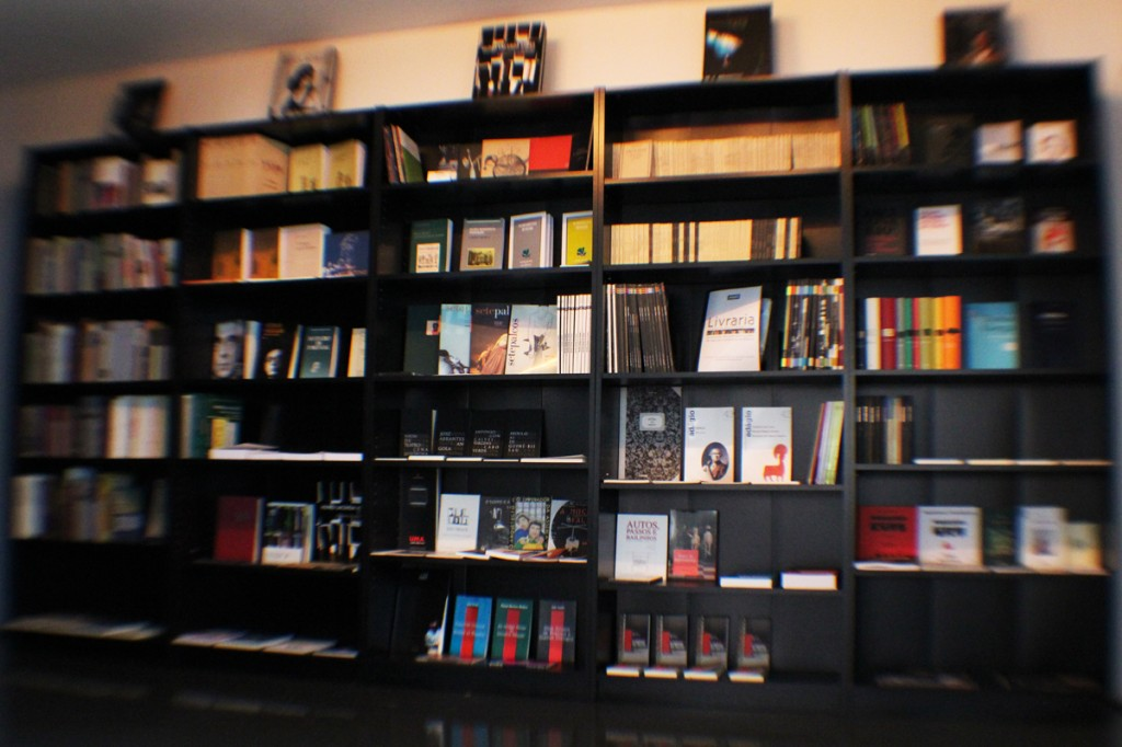 Livraria do TCSB (foto: Eduardo Pinto)