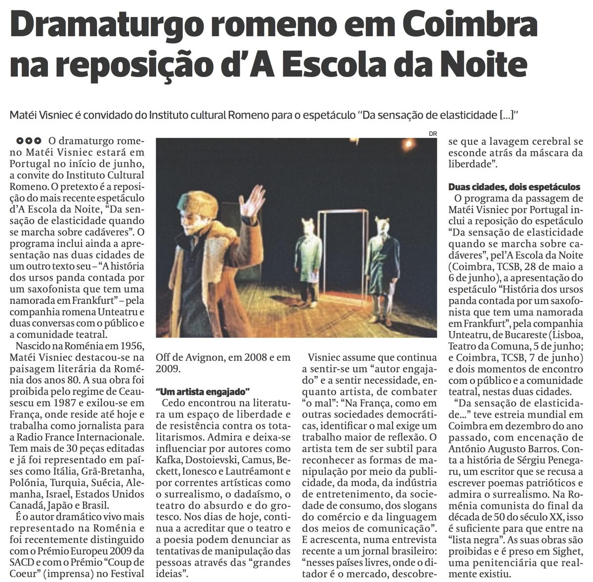 Diário As Beiras, 25/05/2015