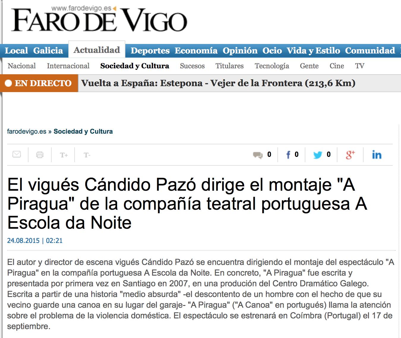 20150824 Faro de Vigo capa