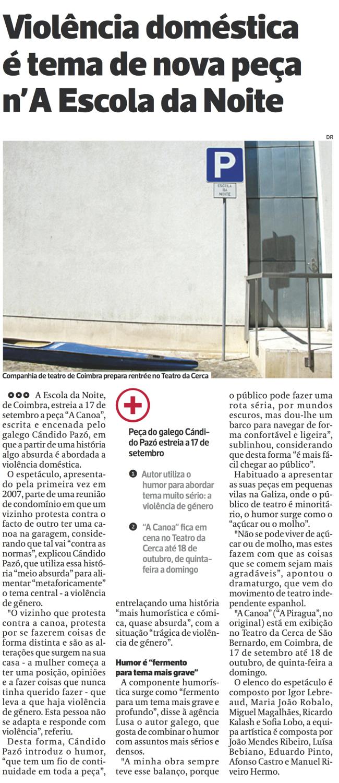 Diário As Beiras, 27/08/2015