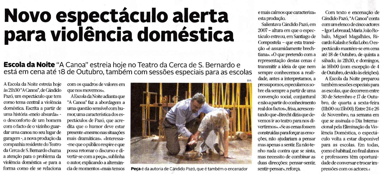 Diário de Coimbra, 17/09/2015
