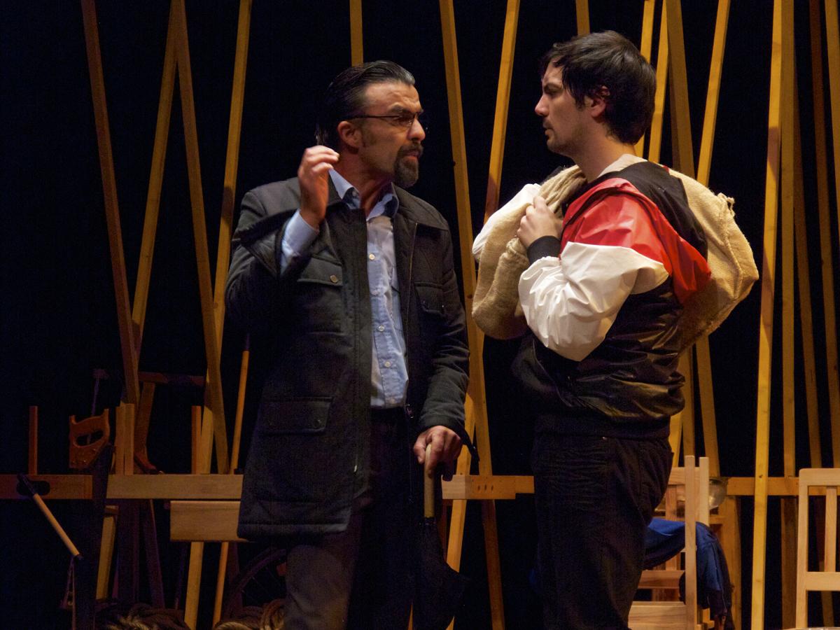 "Ricardo Kalash e Igor Lebreaud, ""A Canoa"" (foto: Pedro Rodrigues)"