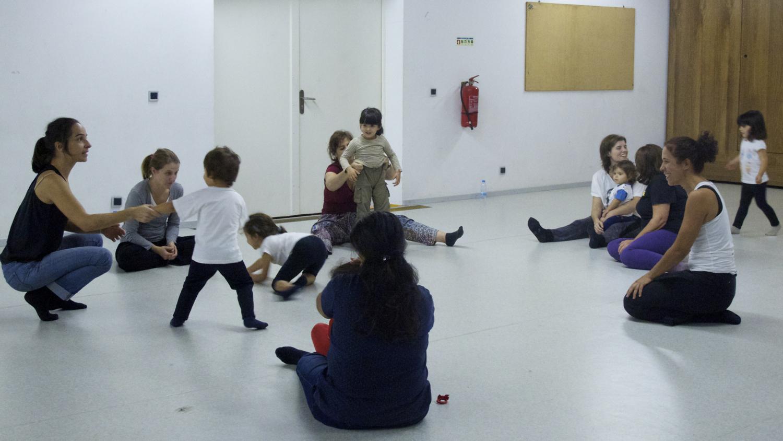 Dança para pais e filhos, com Leonor Barata