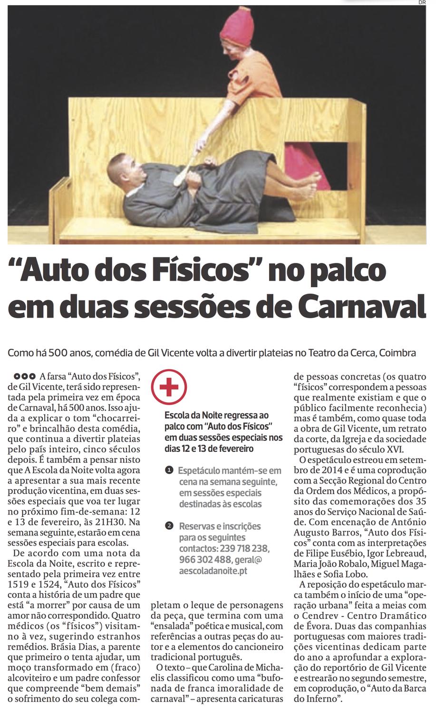 Diário As Beiras, 09/02/2016