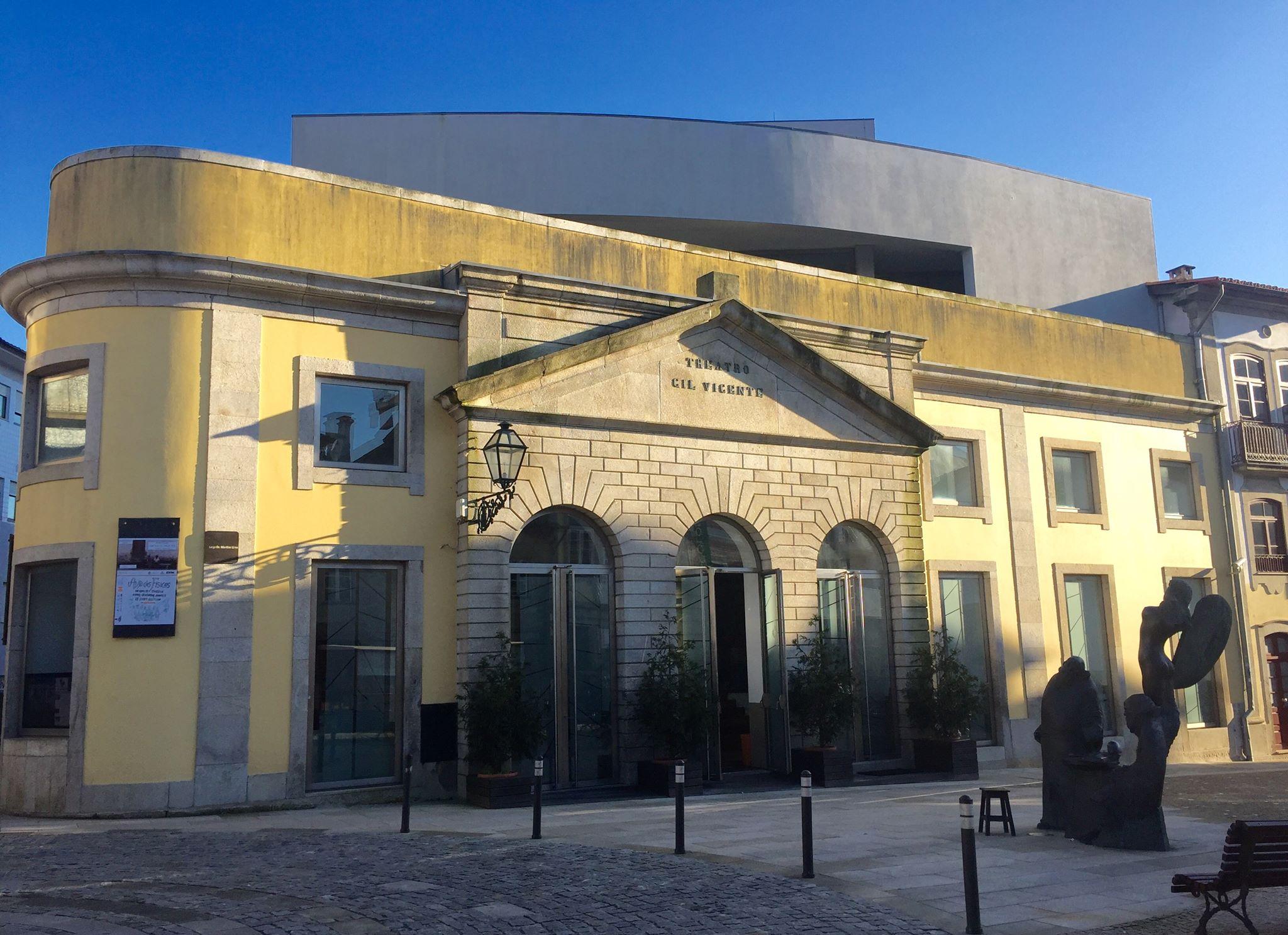 Teatro Gil Vicente, em Barcelos (foto: Sofia Lobo)