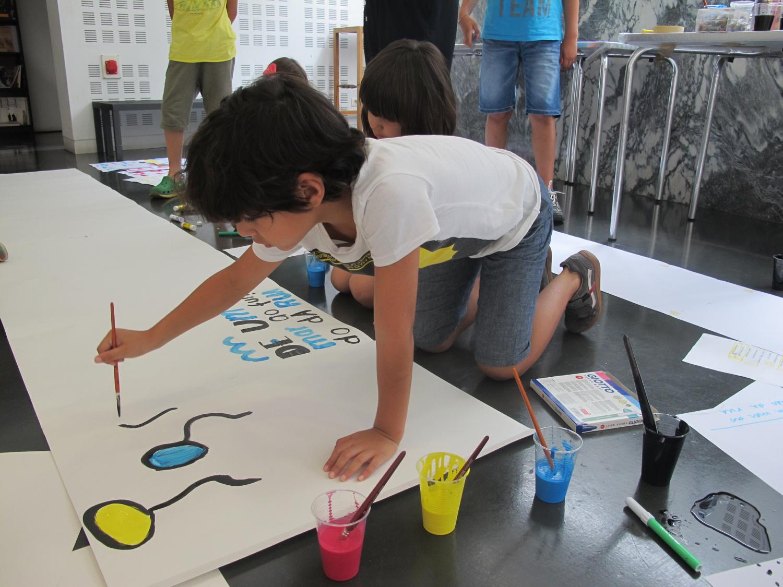 Oficina de ilustração de Ana Biscaia no TCSB (Junho de 2015)