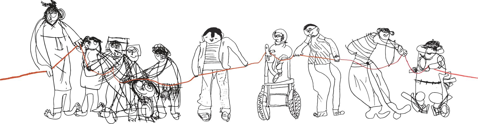 Desenho Cem Linhas 2