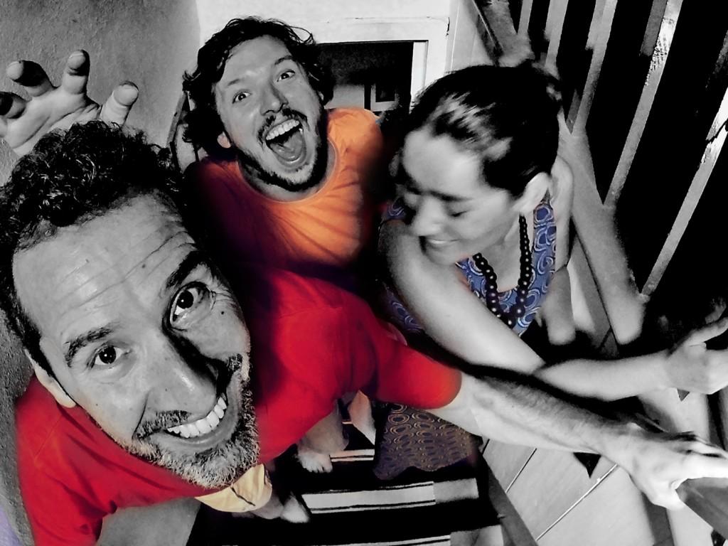 Quiné Teles, Nuno Caldeira e Ela Vaz (foto: Catarina Duarte/Nuno Caldeira)