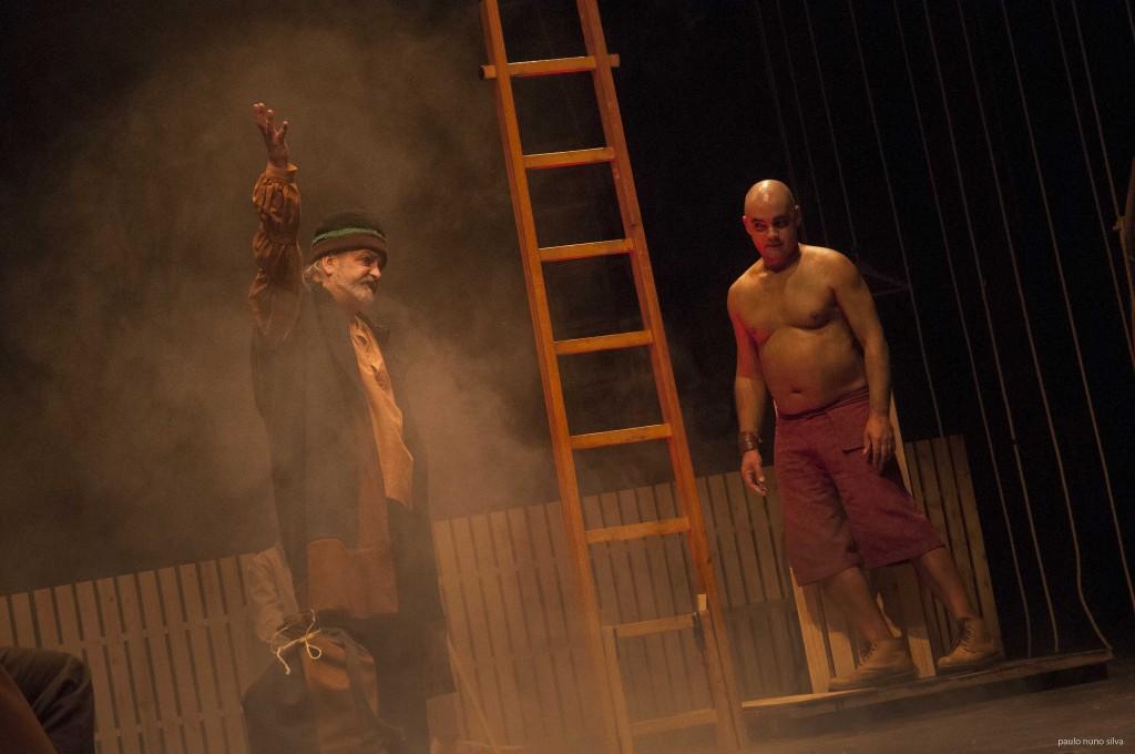 """Rui Nuno e Miguel Magalhães, """"Embarcação do Inferno"""" (foto: Paulo Nuno Silva)"""