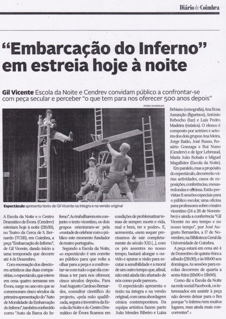 Diário de Coimbra, 10/11/2016